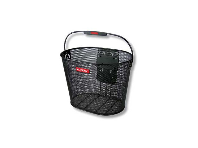 KlickFix Plus Bike Basket black